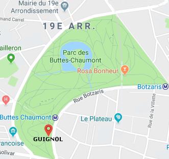 Carte Buttes Chaumont.Infos Pratiques Le Guignol De Paris Du Parc Des Buttes Chaumont